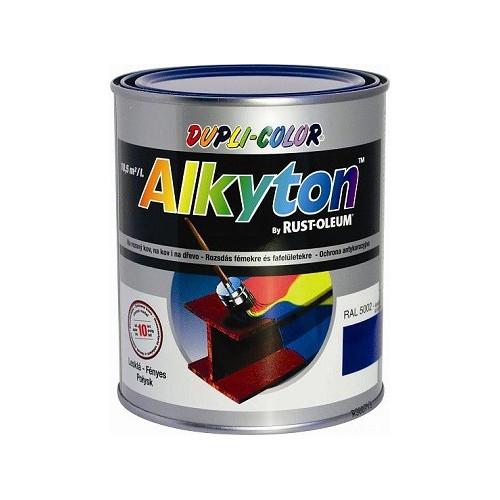 RUST-OLEUM ALKYTON R9006 LESKLÁ STRIEBORNÁ 5 L