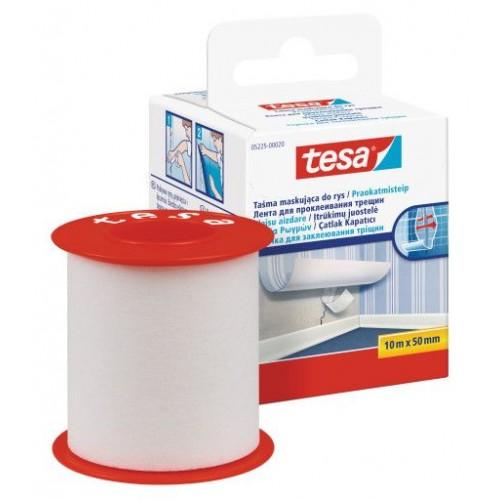 Páska na praskliny TESA biela 50mm 10m