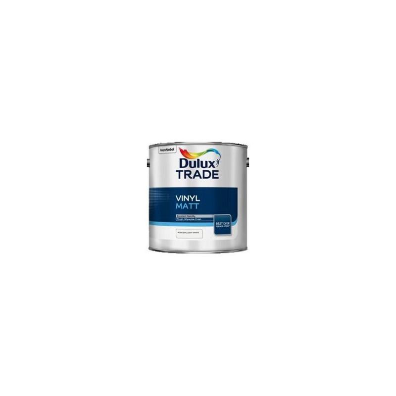 DULUX TRADE VINYL MATT PURE BRILLANT WHITE 2,5 L