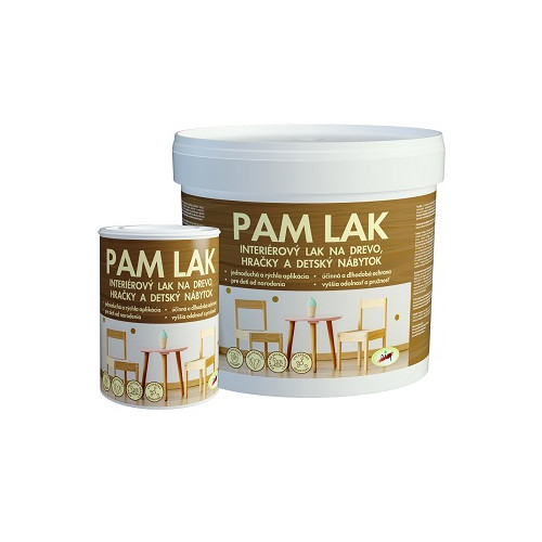 PAM LAK - LAK NA DREVO POLOMATNÝ 5 L