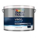 DULUX TRADE VINYL MATT PURE BRILLANT WHITE 10 L