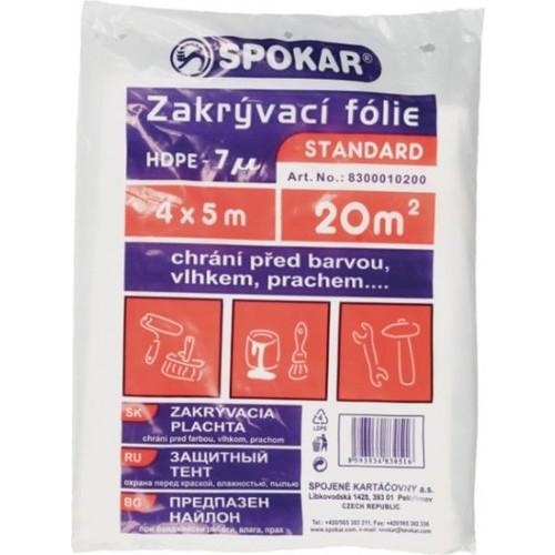 Spokar plachta 4x5 7MY HDPE