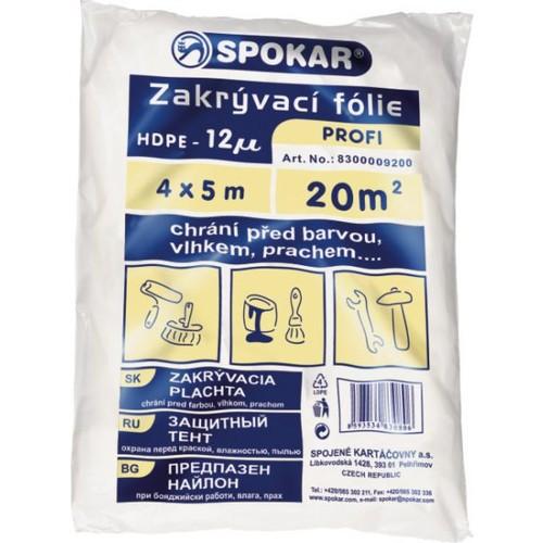 Spokarplachta 4x5m 12MY HDPE