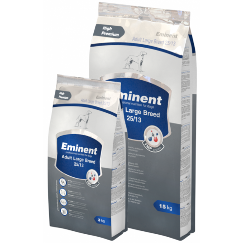 EMINENT ADULT LARGE BREED 25/13  - 15kg + 2kg