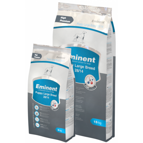 EMINENT PUPPY LARGE BREED 28/14  - 15 kg