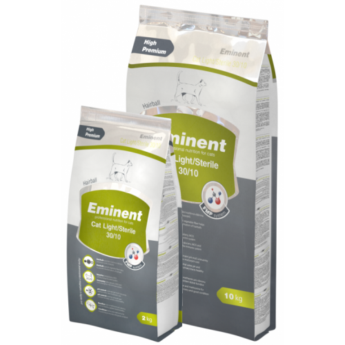 EMINENT CAT LIGHT/STERILE 30/10 - 10 kg + 1kg