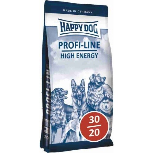 HAPPY DOG PROFI LINE 30/20 HIGH ENERGY 20KG - DOPRAVA ZDARMA