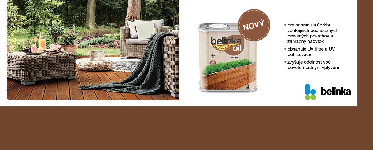 BELINKA OIL DECKING